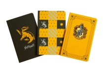 Harry Potter: Hufflepuff Pocket Notebook Collection (Set of 3) Cover Image