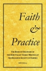 Faith and Practice: The Book of Discipline of the Ohio Valley Yearly Meeting of the Religious Society of Friends Cover Image