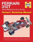 Ferrari 312T 1975 to 1980 (312T, T2, T3, T4, T5 & T6): An insight into the design, engineering, maintenance and operation of Ferrari's series of triple World Championship-winning F1 cars (Owners' Workshop Manual) Cover Image