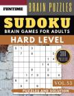 Hard Sudoku: Jumbo 300 SUDOKU hard to extreme puzzle books with answers brain games for adults Activity book (hard sudoku puzzle bo Cover Image