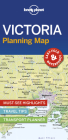 Lonely Planet Victoria Planning Map 1 (Planning Maps) Cover Image