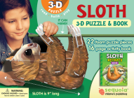 Sloth 3-D Puzzle: Wildlife 3D Puzzle and Book [With Book(s)] Cover Image