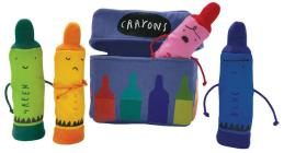 The Day the Crayons Quit Finger Puppet Playset Cover Image