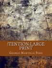 !Tention: Large Print Cover Image