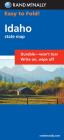 Rand McNally Easy to Fold: Idaho (Laminated Fold Map) (Rand McNally Easyfinder) Cover Image