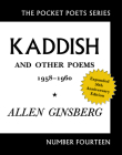 Kaddish and Other Poems: 1958-1960 (Pocket Poets #14) Cover Image