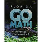 Holt McDougal Go Math! Florida: Student Interactive Worktext Advanced Mathematics 2 2015 Cover Image