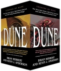Dune Boxed Mass Market Paperback Set #1: The Butlerian Jihad, The Machine Crusade, The Battle of Corrin Cover Image