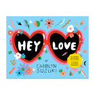 Hey Love Shaped Notecard Portfolio Cover Image