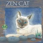 Zen Cat 2021 Mini Calendar: Paintings and Poetry by Nicholas Kirsten-Honshin Cover Image