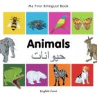 My First Bilingual Book–Animals (English–Farsi) Cover Image