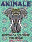 Disegni da colorare per adulti - Livello facile - Animale Cover Image