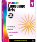 Spectrum Language Arts, Grade 7 Cover Image