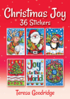 Christmas Joy 36 Stickers (Dover Sticker Books) Cover Image