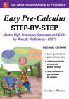 Easy Pre-Calculus Step-By-Step, Second Edition Cover Image
