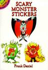 Scary Monster Stickers (Dover Little Activity Books) Cover Image