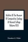 Bulletin Of The Museum Of Comparative Zoology At Harvard College (Volume Xcii); The Lower Miocene Mammal Fauna Of Florida Cover Image