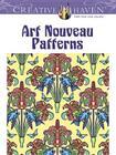 Creative Haven Art Nouveau Patterns Coloring Book Cover Image