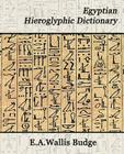 Egyptian Hieroglyphic Dictionary Cover Image