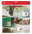 Norman Thelwell - Pony Cavalcade Advent Calendar (with stickers) Cover Image