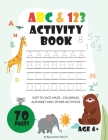 ABC&123 activity book Cover Image