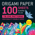 Origami Paper 100 Sheets Tie-Dye Patterns 6 (15 CM): Tuttle Origami Paper: High-Quality Double-Sided Origami Sheets Printed with 8 Different Designs ( Cover Image