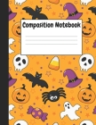 Composition Notebook: Halloween Themes Style, 8.5