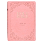 KJV Bible Giant Print Full Size Pink Cover Image