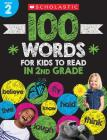 100 Words for Kids to Read in Second Grade Workbook Cover Image
