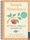 Simple Abundance 2022 Engagement Calendar: 365 Days to a Balanced and Joyful Life Cover Image