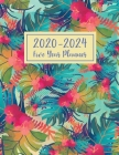 2020-2024 Five Year Planner: 5 Year Appointment - Daily Five Year and Monthly Schedule Agenda Organizer Logbook Journal Personal - 60 Months Calend Cover Image