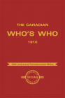 The Canadian Who's Who 1910 Cover Image