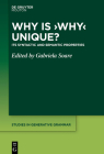 Why is 'Why' Unique? (Studies in Generative Grammar [Sgg] #142) Cover Image