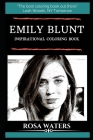 Emily Blunt Inspirational Coloring Book Cover Image