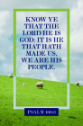 We Are His People Bulletin (Pkg 100) General Worship Cover Image