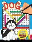 Dogs Word Search Puzzle Book: Easy and Fun Activity Learning Workbook with Coloring Pages Cover Image