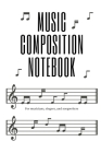 Music Composition Notebook Cover Image