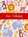 Zoo Coloring: Coloring Pages with Adorable Animal Designs, Creative Art Activities Cover Image