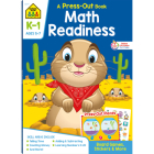 School Zone Math Readiness Grades K-1 Press-Out Workbook Cover Image