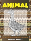Coloring Books for Adults Relieves Anxiety - Animal Cover Image