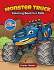 Monster Truck Coloring Book Cover Image