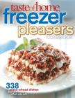 Taste of Home Freezer Pleasers Cookbook Cover Image