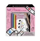 Disney Princess Art Studio [With Palette and Pens/Pencils and 2 Paintbrushes and Watercolor Paint and Eraser and Sharpener and Cover Image