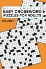 Easy Crossword Puzzles For Adults -Volume 1 Cover Image