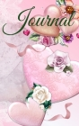 Journal For Her - Pink HardCover with Hearts 122 pages 6X9 Inches Cover Image