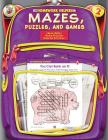 Mazes, Puzzles, and Games, Homework Helpers, Grade 2 Cover Image