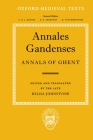 Annales Gandenses: Annals of Ghent Cover Image
