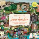 The The World of Jane Austen 1000 Piece Puzzle: A Jigsaw Puzzle with 60 Characters and Great Houses to Find Cover Image