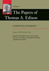 The Papers of Thomas A. Edison, 9: Competing Interests, January 1888-December 1889 Cover Image