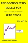 Price-Forecasting Models for American Finance Trust Inc Pfd Ser A AFINP Stock Cover Image